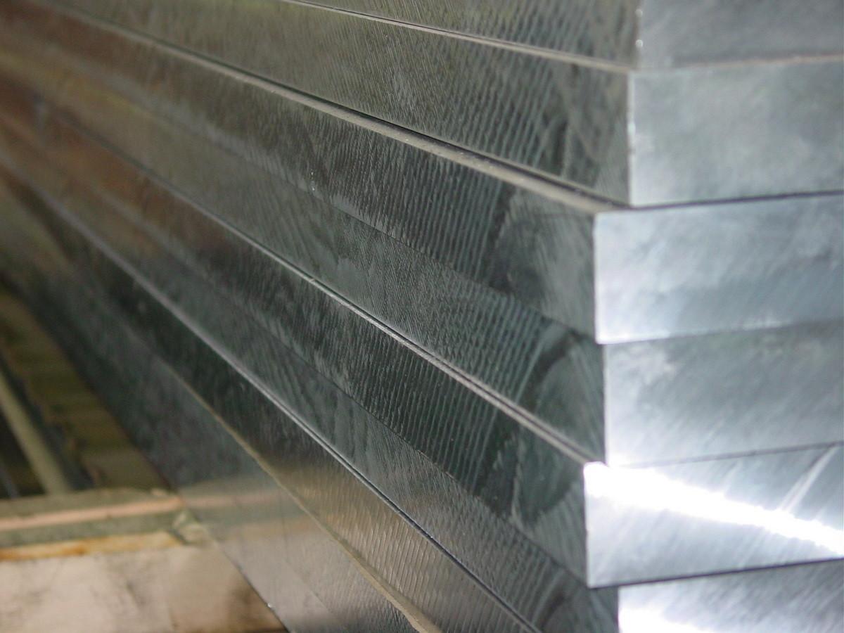 Обрезки алюминиевых плит 118 мм Д16
