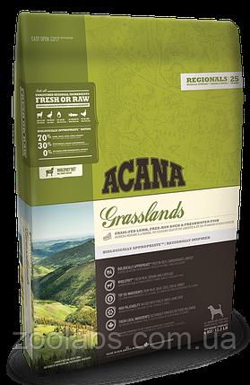 Корм Acana для собак и щенков ягненок с уткой | Acana Grasslands Dog 11,4 кг, фото 2