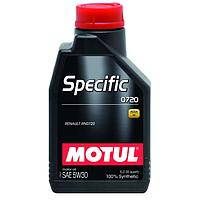 Масло моторное Motul Specific 0720 5W-30 1л