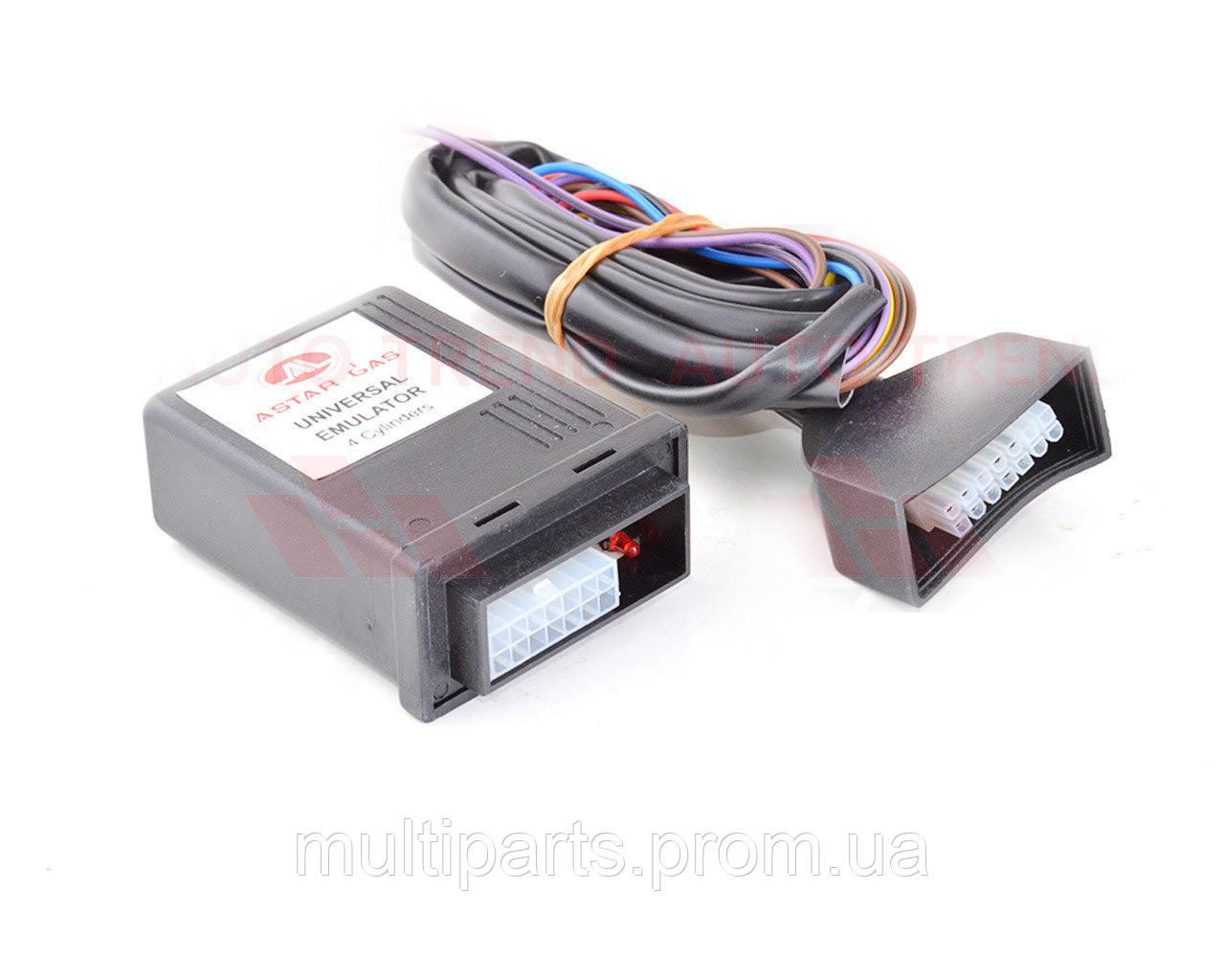 Эмулятор инжектора ASTAR GAS 4 цил., разъем универсальный (без фишек)