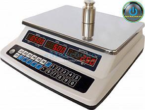 Торговые весы с поверкой 15 кг ВТНЕ 15Т1 (Дозавтоматы)