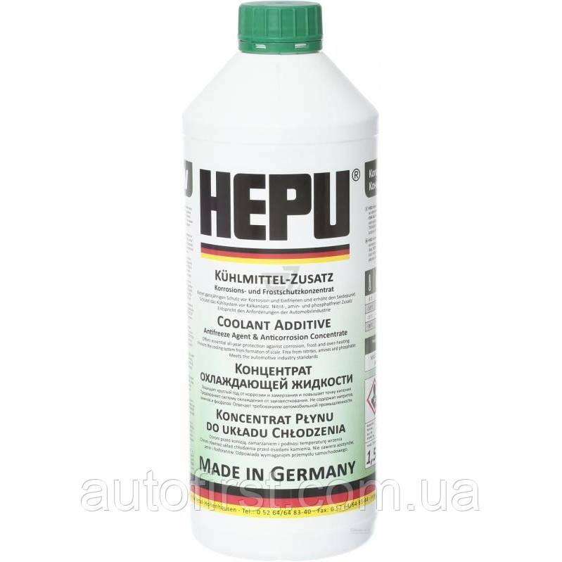 HEPU Антифриз (зеленый) G11 Plus (1.5L)