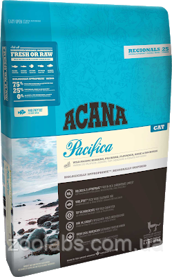 Корм Acana для кошек и котят с рыбой | Acana Pacifica Cat 1,8 кг