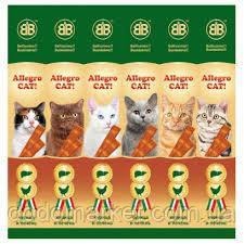 Мясные колбаски с курицей и печенью для кошек Allegro Cat (Аллегро Кет) 6*5 гр