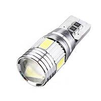 Светодиодная лампа W5W T10-5630-6SMD Canbus белая