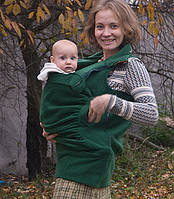 Слингожилетка. Зеленая хвоя