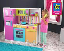 Велика дитяча дерев'яна яна Кухня Kidkraft