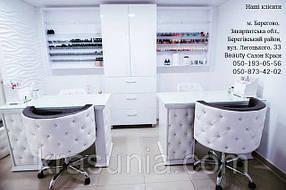 Кресло клиента Ice Queen, Маникюрный стол Queen 8