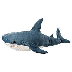 IKEA Акула (303.735.88) М'яка іграшка, акула 100см