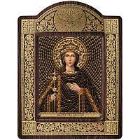 """Набор для вышивки икон в рамке-киоте """"Св. Вмц. Ирина Македонская"""""""