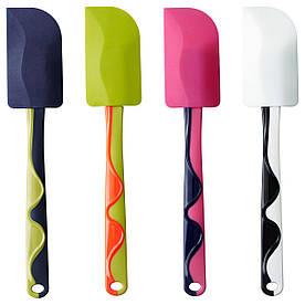 IKEA GUBBRORA (902.257.31) Лопатка зеленый / розовый, синий / белый