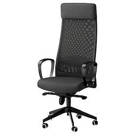 IKEA MARKUS (702.611.50) Робочий стілець, сірий Vissle