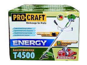 Мотокоса Procraft T4500 ремень рюкзак, бумажный фильтр, фото 2