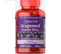 Puritan's pride Grapeseed Extract 100 mg 200 caps
