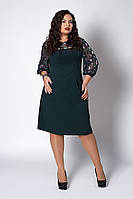 Женское нарядное платье с кружевом - код 580, фото 1