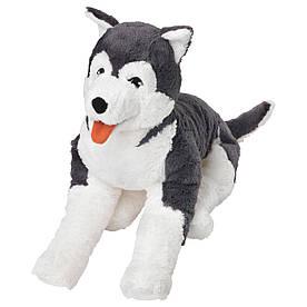 IKEA LIVLIG (402.979.90) М'яка іграшка, хрипка собака, сибірська хаскі