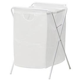 IKEA JALL (701.189.68) Мішок для білизни, білий