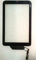 Сенсор (тачскрін) для Acer Iconia W3-810 чорний, фото 3