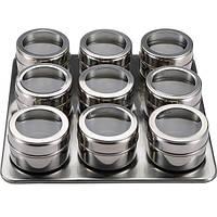 Набор для специй на магнитной подставке 9 предметов Benson BN-007