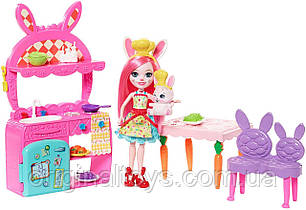 Набор Кукла Enchantimals Кухня Бри Кроля Kitchen Fun Playset Bree Bunny FRH47