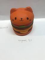 Котик, гамбургер, Сквіш, сквиш, антистрес, великі, торт, котик, кот, единорог, сова