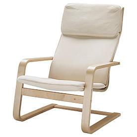 IKEA PELLO (500.784.64) Крісло, Холмбі натуральне
