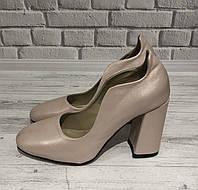 Перламутровые женские кожаные туфли Loyana , фото 1