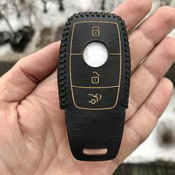 Кожаный чехол на ключа Mercedes A,AMG GT,B,C,Citan,CLA,CLC,CL,CLK,CLS,E,G,GLA, GLC,GL,GLE,GLK,GLS,M,R,S,SLC,SL
