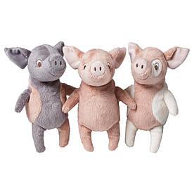 IKEA KELGRIS (102.980.00) М'яка іграшка, свині різних моделей