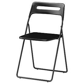IKEA NISSE (301.150.66) Складаний стілець, чорний