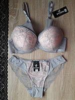 Комплект FNNISS серо-розовый