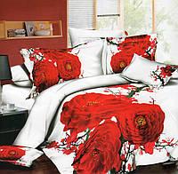 Шикарное постельное в яркие цветы