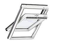 Мансардне вікно VELUX Standart + (Велюкс) GLU 0061/0061B двокамерний склопакет, фото 1