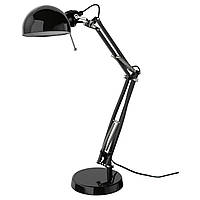 IKEA FORSA (001.467.76) Настольная лампа черного цвета