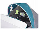 Кроватка туристическая Lionelo Simon Turquoise Польща, фото 10