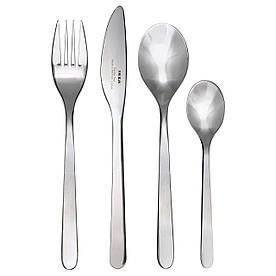 IKEA FORNUFT (700.149.99) Набор столовых приборов, 24 шт., Нержавеющая сталь