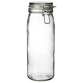 IKEA KORKEN (902.135.49) Пляшка з кришкою, прозорим склом