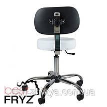 Обертовий косметологічний табурет, стілець, фото 3