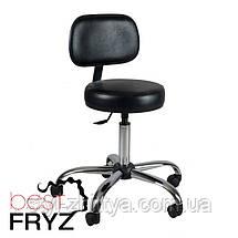 Обертовий косметологічний табурет, стілець, фото 2