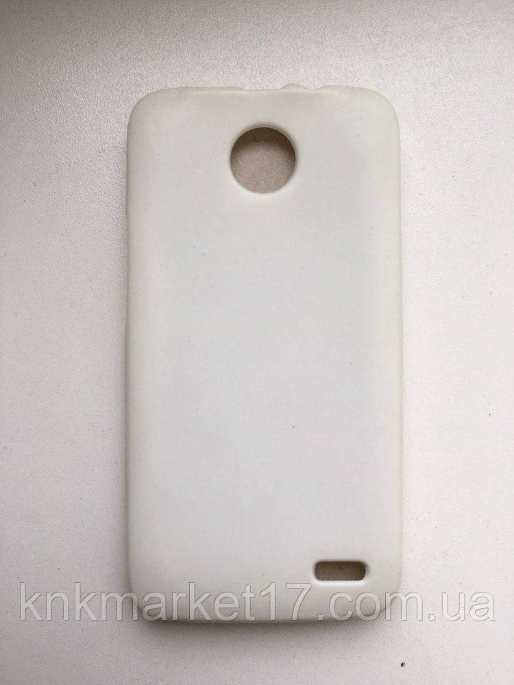 Накладка для Lenovo A820 Силикон Белая