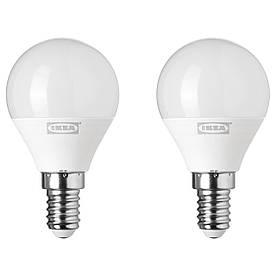 IKEA RYET (703.718.94) Светодиодная лампа E14 200 люмен