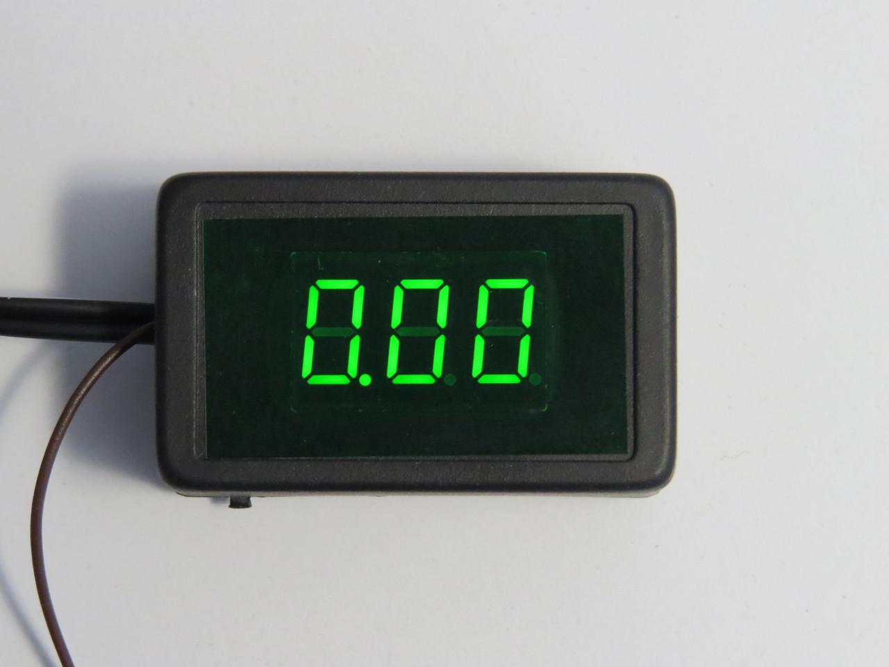 Вольтметр спідометр 12В Форсаж
