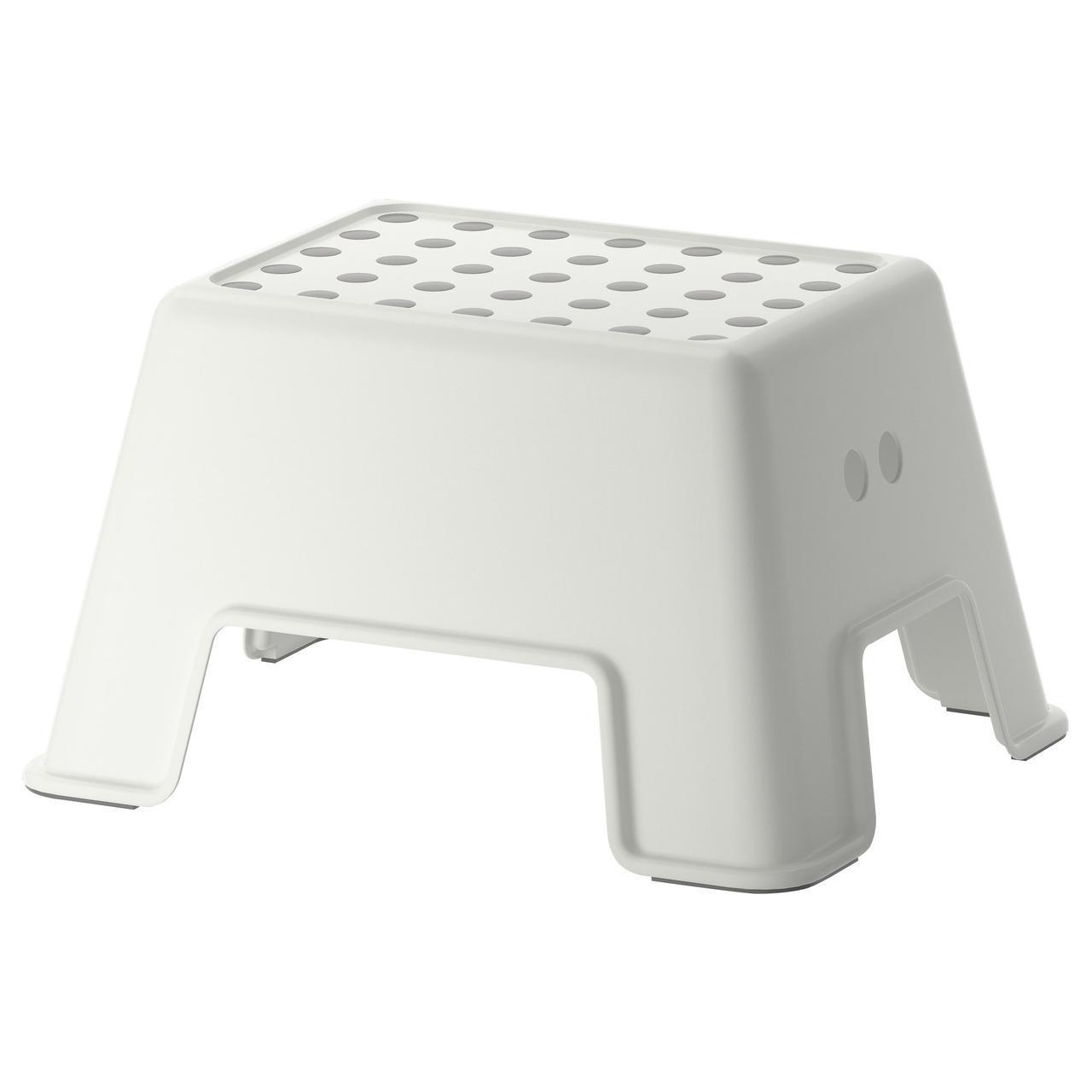 IKEA BOLMEN (602.651.63) Табурет-лестница, белый
