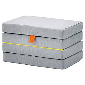 IKEA SLAKT (103.629.63) Пуфа/складений матрац