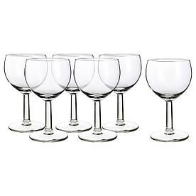 IKEA FORSIKTIGT (803.002.07) Бокал для вина, бесцветное стекло