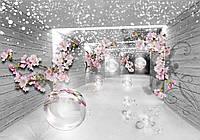 Фотообои  3Д  на бумаге, коллекция Forwall ,  DecoArt    3360-Р4  для гостиной, спальни, детской  2,54*1,84