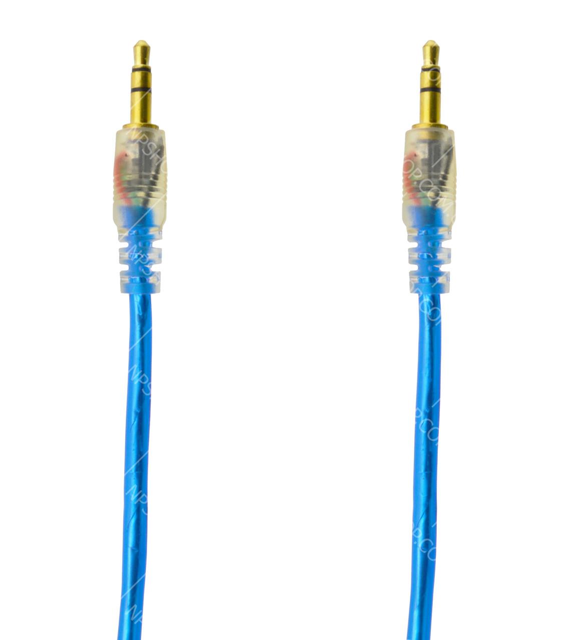AUX аудио кабель 3,5мм DJI 1115 ПАПА-ПАПА 1 метра