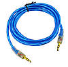 AUX аудио кабель 3,5мм DJI 1115 ПАПА-ПАПА 1 метра, фото 2