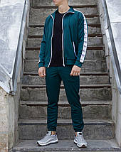 Мастёрка, олимпийка, мужская спортивная кофта Smoke (Смок) зелёная, фото 3