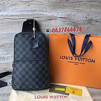 Мужская нагрудная сумка слинг Louis Vuitton